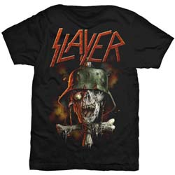 Slayer Men's Tee: Soldier Cross V.2