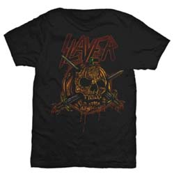 Slayer Men's Tee: Skull Pumpkin