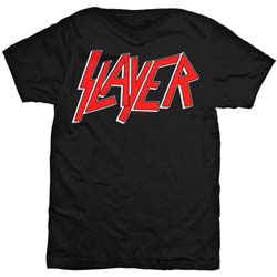 Slayer Men's Tee: Classic Logo