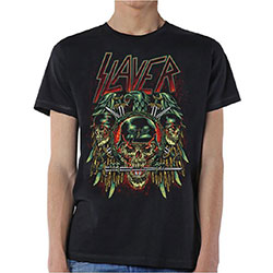 Slayer Men's Tee: Prey with Background