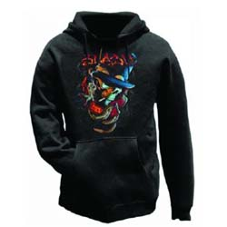 Slash Men's Pullover Hoodie: Smoker