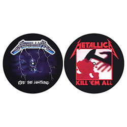 Metallica Slipmat Set: Kill 'em all / Ride the Lightning