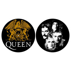 Queen Slipmat Set: Crest & Faces