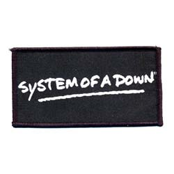 System Of A Down Standard Patch: Logo