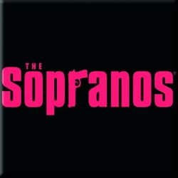 The Sopranos Fridge Magnet: Main Logo