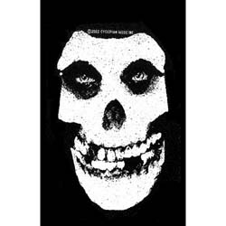 Misfits Standard Patch: White Skull