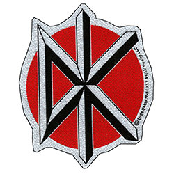 Dead Kennedys Standard Patch: Logo Cut Out