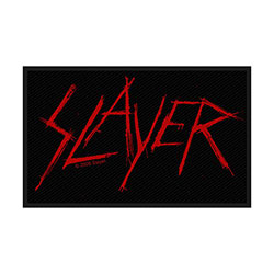 Slayer Standard Patch: Scratched Logo