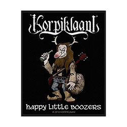 Korpiklaani Standard Patch: Happy Little Boozers