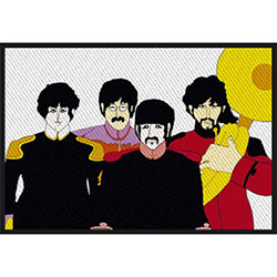 The Beatles Standard Patch: Yellow Submarine Band