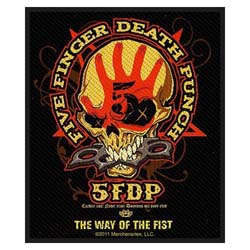 Five Finger Death Punch Standard Patch: Way Of The Fist