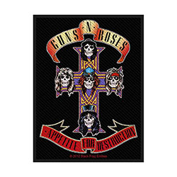 Guns N' Roses Standard Patch: Appetite