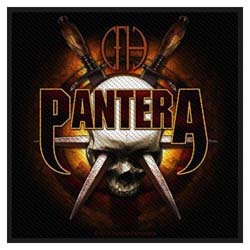 Pantera Standard Patch: Skull Knives