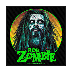 Rob Zombie Standard Patch: Zombie Face