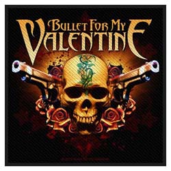 Bullet For My Valentine Standard Patch: Two Pistols