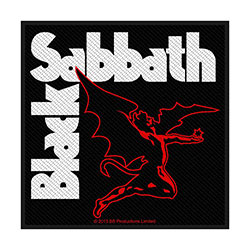 Black Sabbath Standard Patch: Creature
