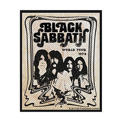 Black Sabbath Standard Patch: Band