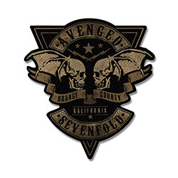 Avenged Sevenfold Standard Patch: Orange County Cut-Out