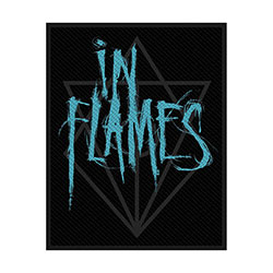 In Flames Standard Patch: Scratched Logo