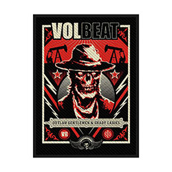 Volbeat Standard Patch: Ghoul Frame