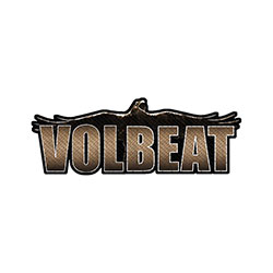 Volbeat Standard Patch: Raven Logo Cut-out