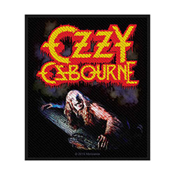 Ozzy Osbourne Standard Patch: Bark At The Moon