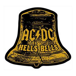 AC/DC Standard Patch: Hells Bells Cut Out