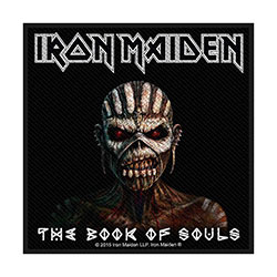 Iron Maiden Standard Patch: The Book Of Souls