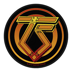 Twisted Sister Standard Patch: Logo
