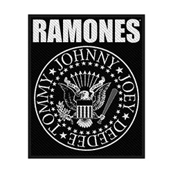 Ramones Standard Patch: Classic Seal