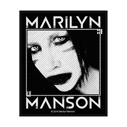 Marilyn Manson Standard Patch: Villain