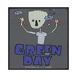 Green Day Standard Patch: Hammer Face