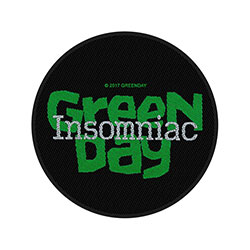 Green Day Standard Patch: Insomniac