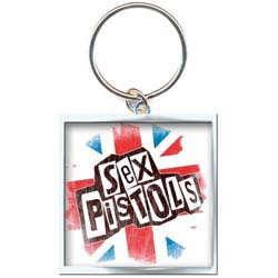 The Sex Pistols Standard Key-Chain: Union Jack