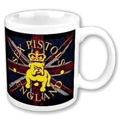 The Sex Pistols Boxed Standard Mug: Bull Dog & Flag