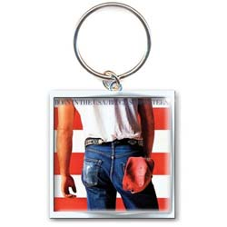Bruce Springsteen Standard Key-Chain: Born in the USA