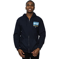 Star Wars Men's Zipped Hoodie: Rogue One AT-ST Death Star Skyline