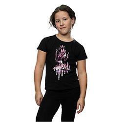 Star Wars Kids Girl's Fit Tee: Rogue One Jyn and K-2SO