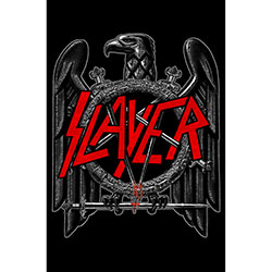 Slayer Poster: Black Eagle with Textile fabrication