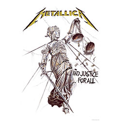 Metallica Textile Poster: And Justice for All