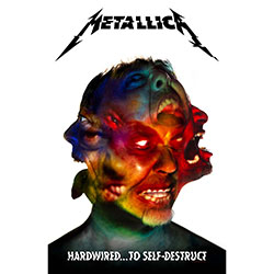 Metallica Textile Poster: Hardwired to Self Destruct