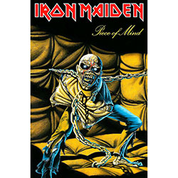 Iron Maiden Textile Poster: Piece Of Mind