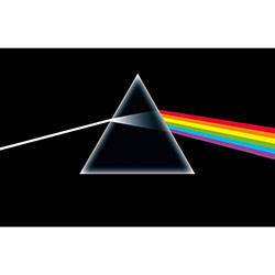 Pink Floyd Textile Poster: Dark Side Of The Moon
