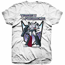 Hasbro Men's Tee: Transformers Megatron