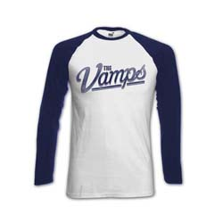 The Vamps Ladies Raglan Tee: Simpson with Back Printing