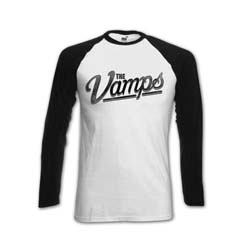 The Vamps Ladies Raglan Tee: McVey with Back Printing
