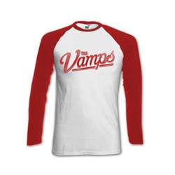 The Vamps Ladies Raglan Tee: Evans with Back Printing