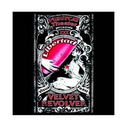 Velvet Revolver Greetings Card: Libertad