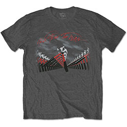 Pink Floyd Men's Tee: The Wall Marching Hammers
