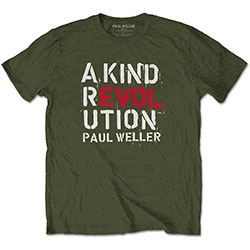 Paul Weller Men's Tee: A Kind Revolution
